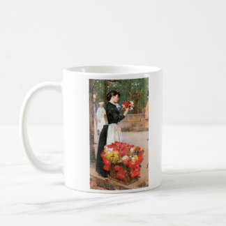 Childe Hassam - Flower girl Coffee Mug