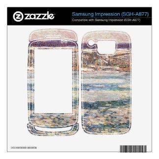 Childe Hassam - hielo en el río Hudson Samsung Impression Skins