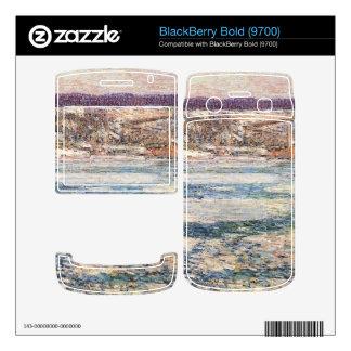 Childe Hassam - hielo en el río Hudson Skins Para BlackBerry
