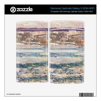 Childe Hassam - hielo en el río Hudson Samsung Captivate Skin