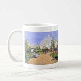 Childe Hassam - House of gardens Worlds Columbian Coffee Mug