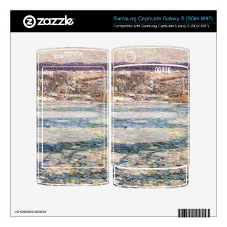 Childe Hassam - Ice on the Hudson River Samsung Captivate Decal