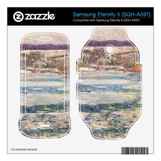 Childe Hassam - Ice on the Hudson River Samsung Eternity II Decal