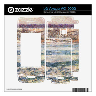 Childe Hassam - Ice on the Hudson River Skins For The LG Voyager