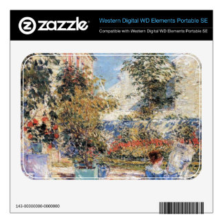 Childe Hassam - In a French garden WD Elements SE Skin