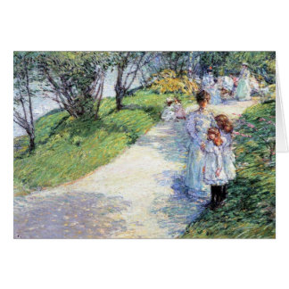 Childe Hassam - In Central Park Greeting Cards