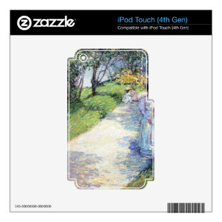 Childe Hassam - In Central Park iPod Touch 4G Skin