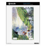 Childe Hassam - In Central Park Decals For The Kindle