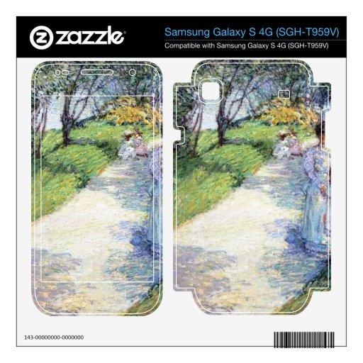Childe Hassam - In Central Park Samsung Galaxy S 4G Decal