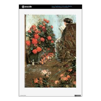 Childe Hassam - In the garden in Villiers-le-Bel PS3 Decals