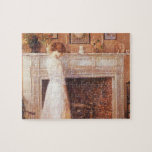 Childe Hassam - In the old house Jigsaw Puzzle