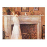 Childe Hassam - In the old house Post Cards