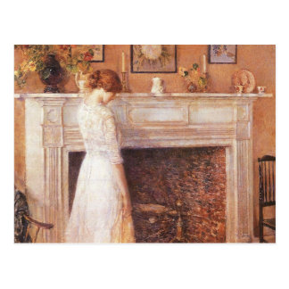 Childe Hassam - In the old house Postcard