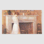 Childe Hassam - In the old house Sticker