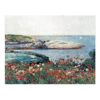 Childe Hassam - islas de las amapolas de bajíos Postales