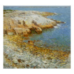 Childe Hassam - 'Isles of Shoals, Broad Cove Print