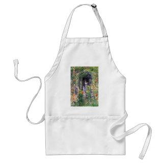Childe Hassam - Isles of Shoals Garden Adult Apron