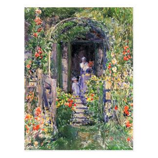 Childe Hassam - Isles of Shoals Garden Postcard