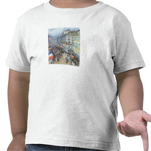 Childe Hassam - la ruda Daunou del 14 de julio Camisetas