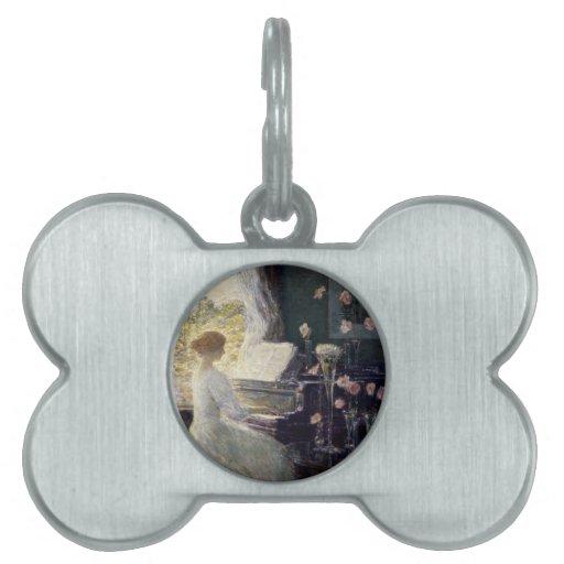 Childe Hassam - la sonata Placas De Mascota