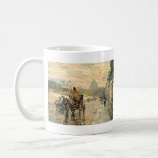Childe Hassam - La Val de Grace Spring Morning Classic White Coffee Mug