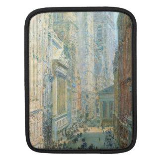 Childe Hassam - Lower Manhattan Sleeve For iPads