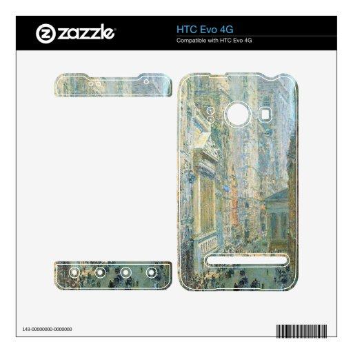 Childe Hassam - Lower Manhattan Skins For HTC Evo 4G