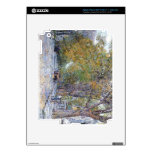 Childe Hassam - Main Street East Hampton Decal For iPad 3