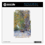 Childe Hassam - Main Street East Hampton Decals For iPod Touch 4G