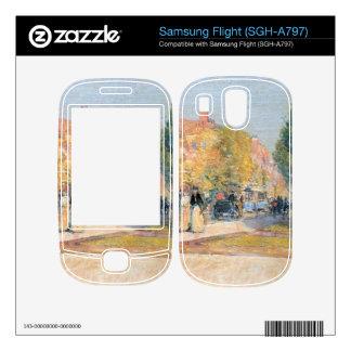 Childe Hassam - Malborough Street Boston Decals For Samsung Flight