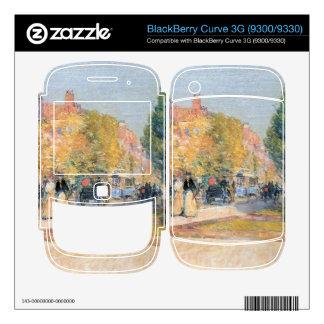 Childe Hassam - Malborough Street Boston Decal For BlackBerry