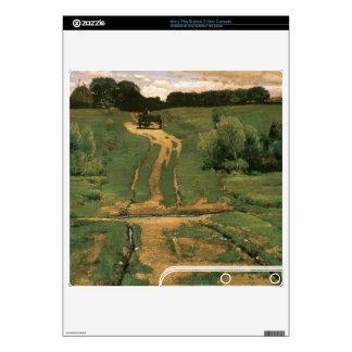 Childe Hassam - Open land Skin For PS3 Slim