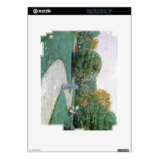 Childe Hassam - Parc Moneceaux París Calcomanía Para iPad 2