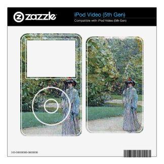 Childe Hassam - Parc Moneceaux Paris iPod Video Decals