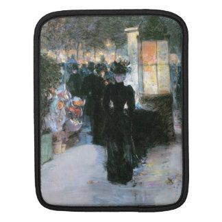 Childe Hassam - Paris Nocturne iPad Sleeves