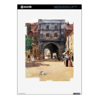 Childe Hassam - Passage in Canterbury iPad 3 Decal