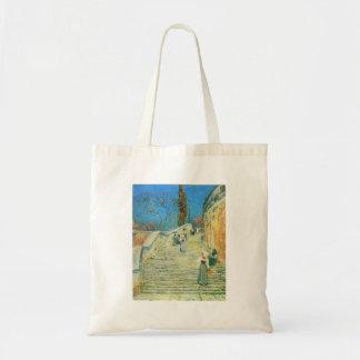 Childe Hassam - Piazza di Spagna Rome Budget Tote Bag