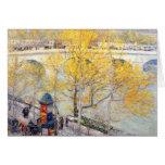 Childe Hassam - Pont Royal Paris Card