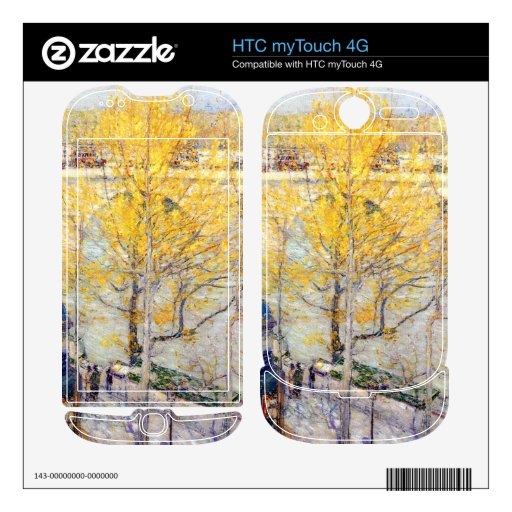Childe Hassam - Pont Royal Paris Decals For HTC myTouch 4G