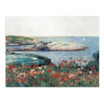 Childe Hassam - Poppies Isles of Shoals Postcard