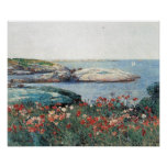 Childe Hassam - Poppies, Isles of Shoals Posters