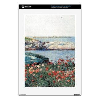 Childe Hassam - Poppies Isles of Shoals Skin For The PS3 Console