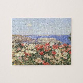 Childe Hassam - Poppies on the Isles of Shoals Jigsaw Puzzle