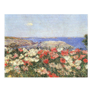 Childe Hassam - Poppies on the Isles of Shoals Postcard