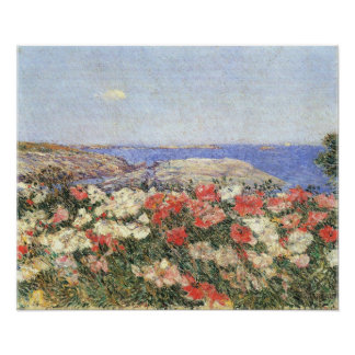 Childe Hassam - Poppies on the Isles of Shoals Poster