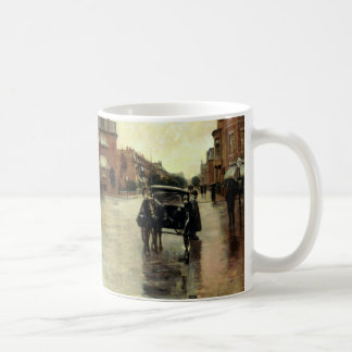 Childe Hassam - Rainy Day, Boston Coffee Mug