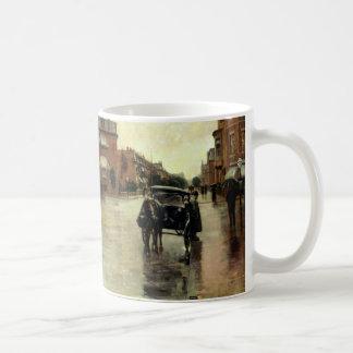 Childe Hassam - Rainy Day, Boston Classic White Coffee Mug