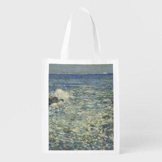 Childe Hassam - resaca, islas de bajíos Bolsa Reutilizable