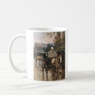 Childe Hassam - Rue Bonaparte Coffee Mug
