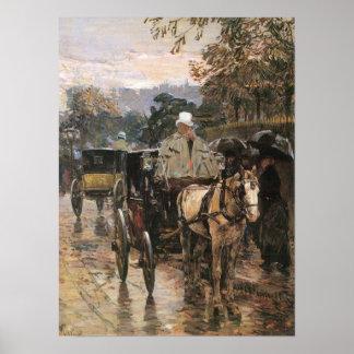 Childe Hassam - Rue Bonaparte Poster